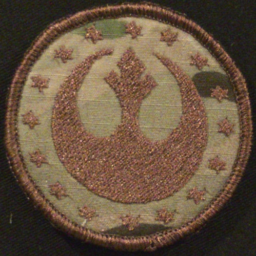 star emblem morale patch in multicam