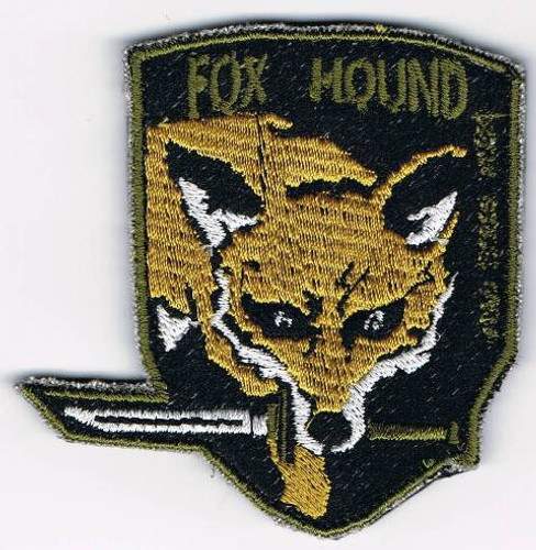Fox Hound Special Forces Group Patch