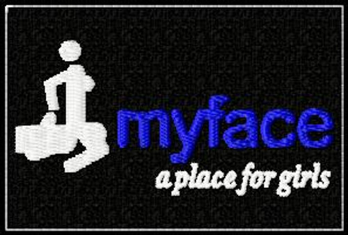 My place, a place for girls patch