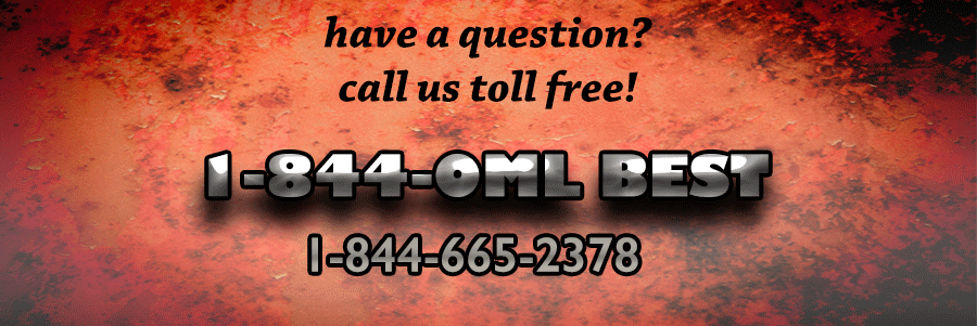OMLpatches.com new toll free phone number