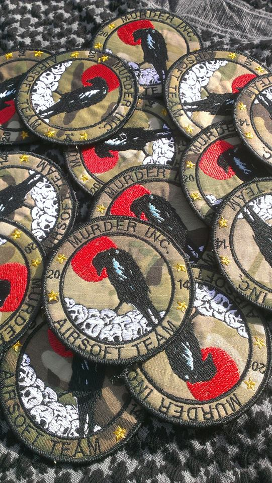 Murder Inc. airsoft teams patches