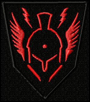 Sentinel Task Force Patch in Red thread