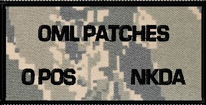 CUSTOM VELCRO BATTLE PATCH