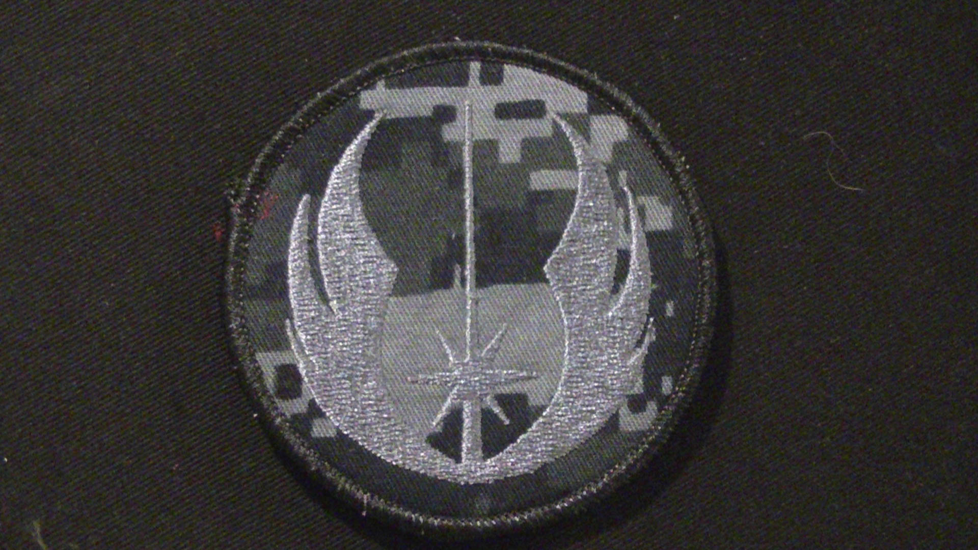 navy digital star wars patch