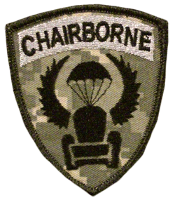 Funny Chairborne Patch