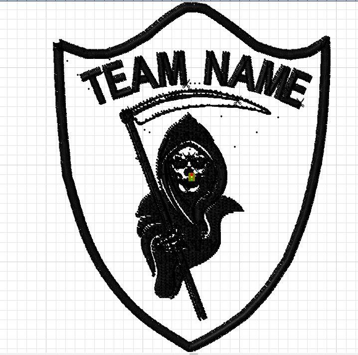 custom team patch reaper