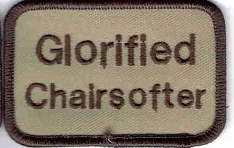 airsoft patch glorified chairsofter