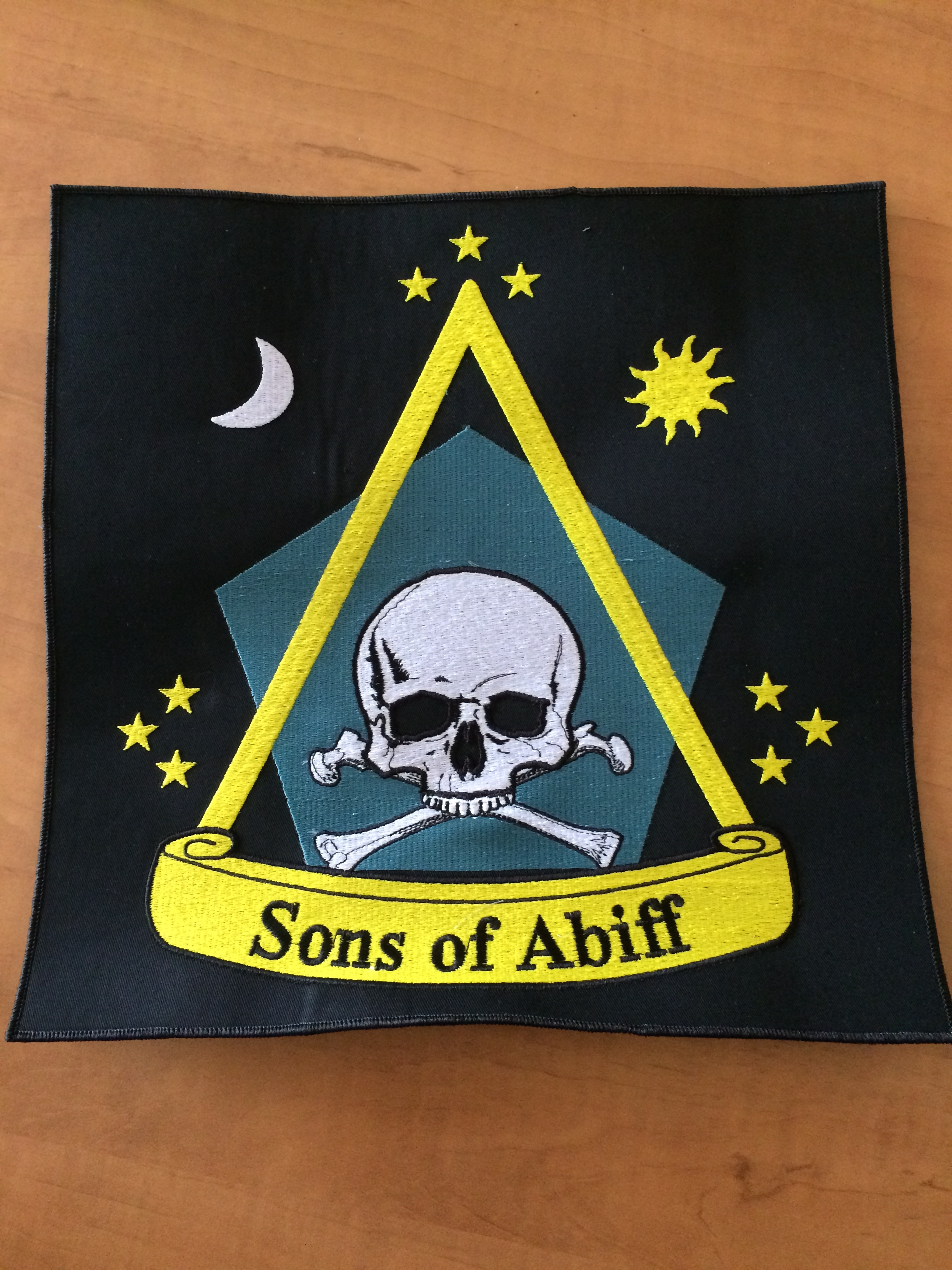 sons of abiff motorcycle back patch