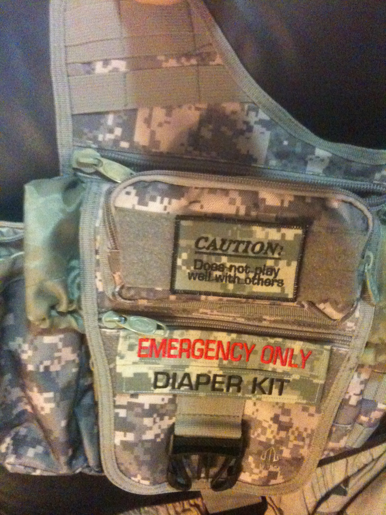 emergency patches on gear