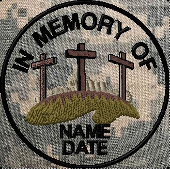 Custom memory patch with crosses