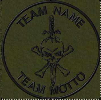 custom team patch jolly roger sword in od.jpg