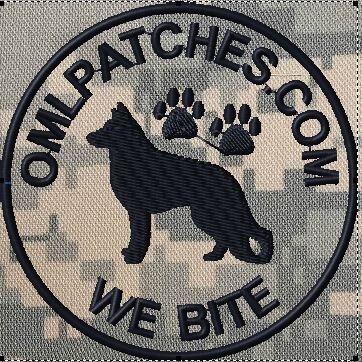 custom patch K9