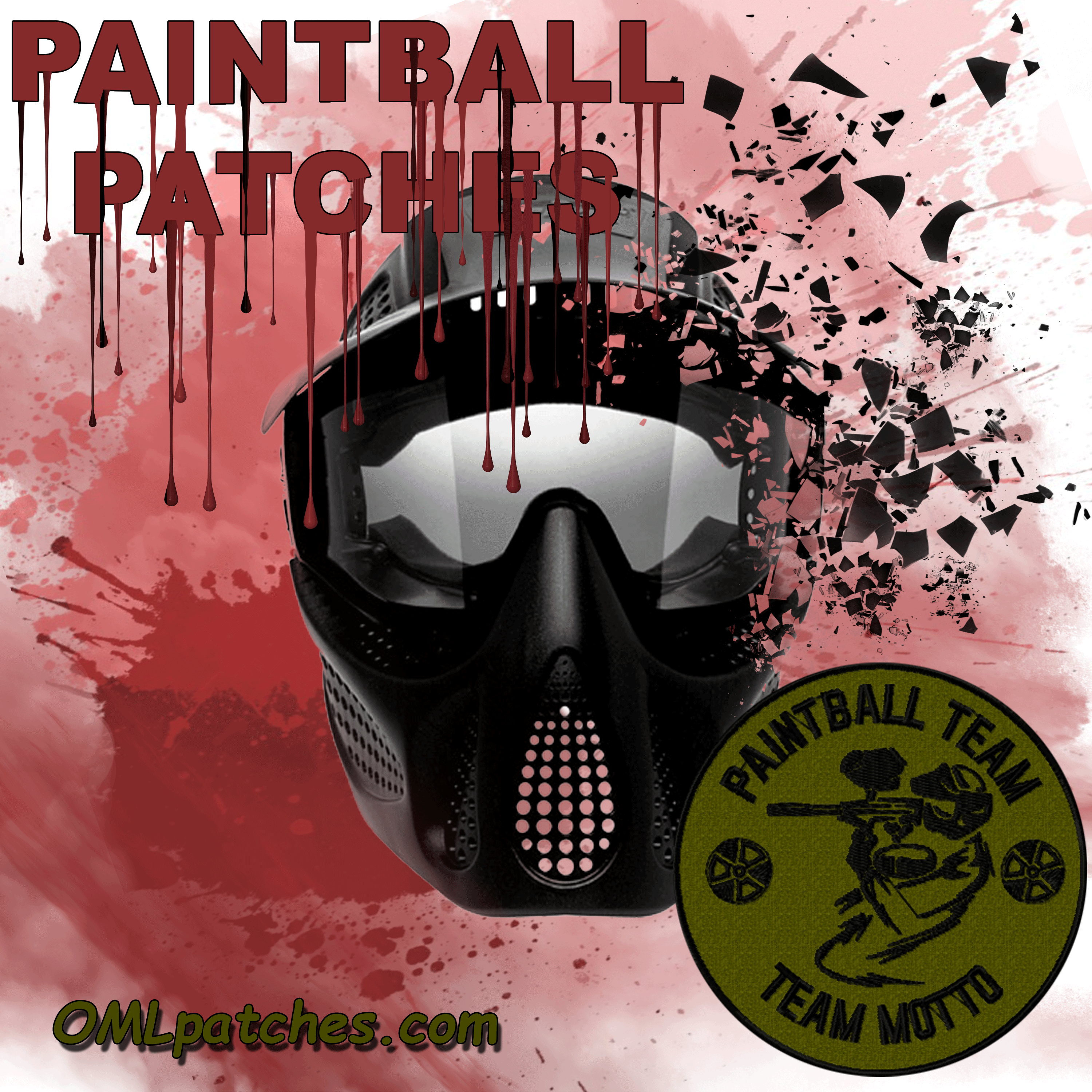 paintball patches at OMLpatches.com