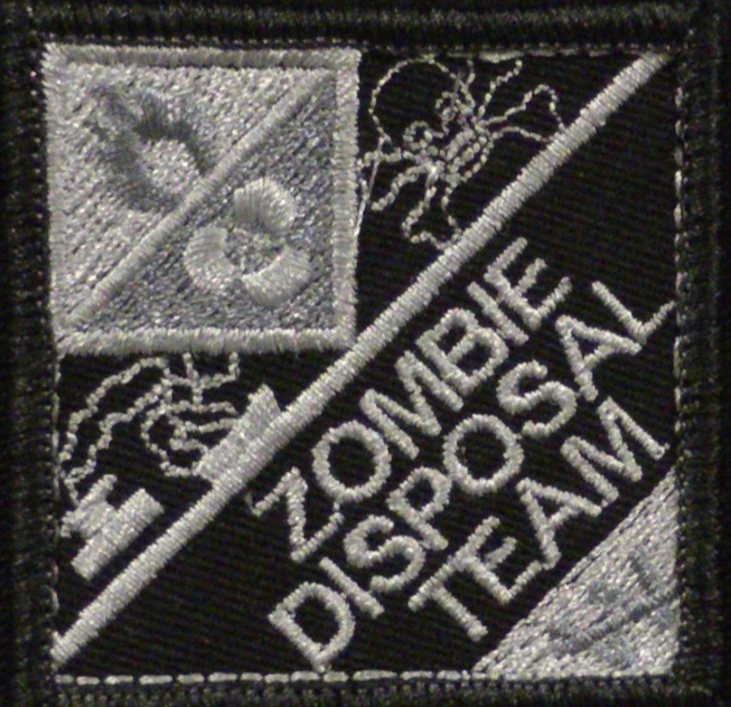 Zombie Disposal Team velcro patch.jpg