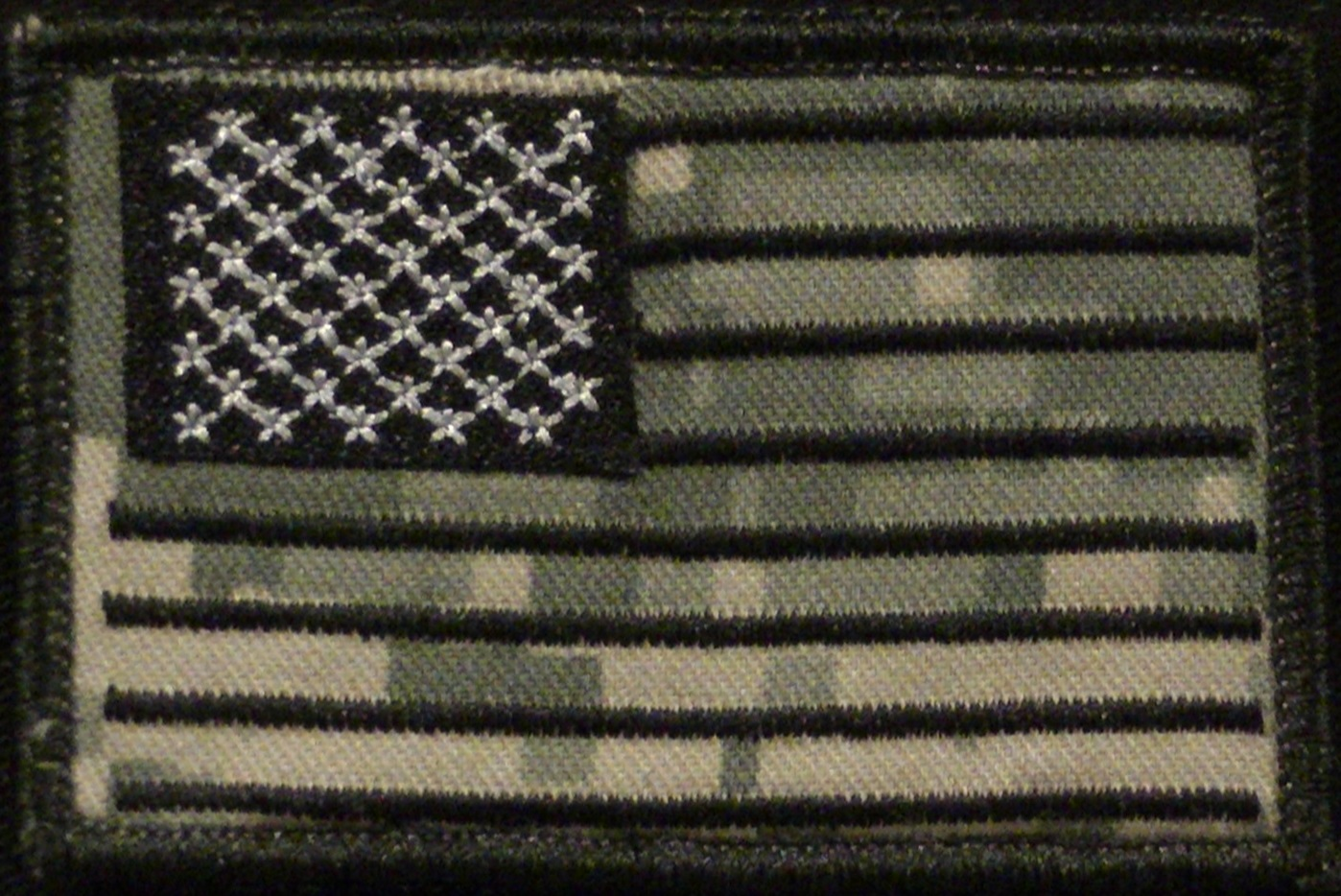 usa flag camo back patch