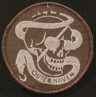 outer haven mother company patch in sheriff brown