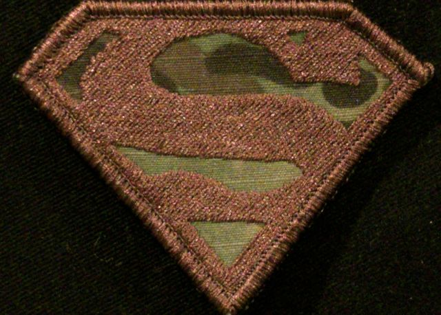 superman morale patch