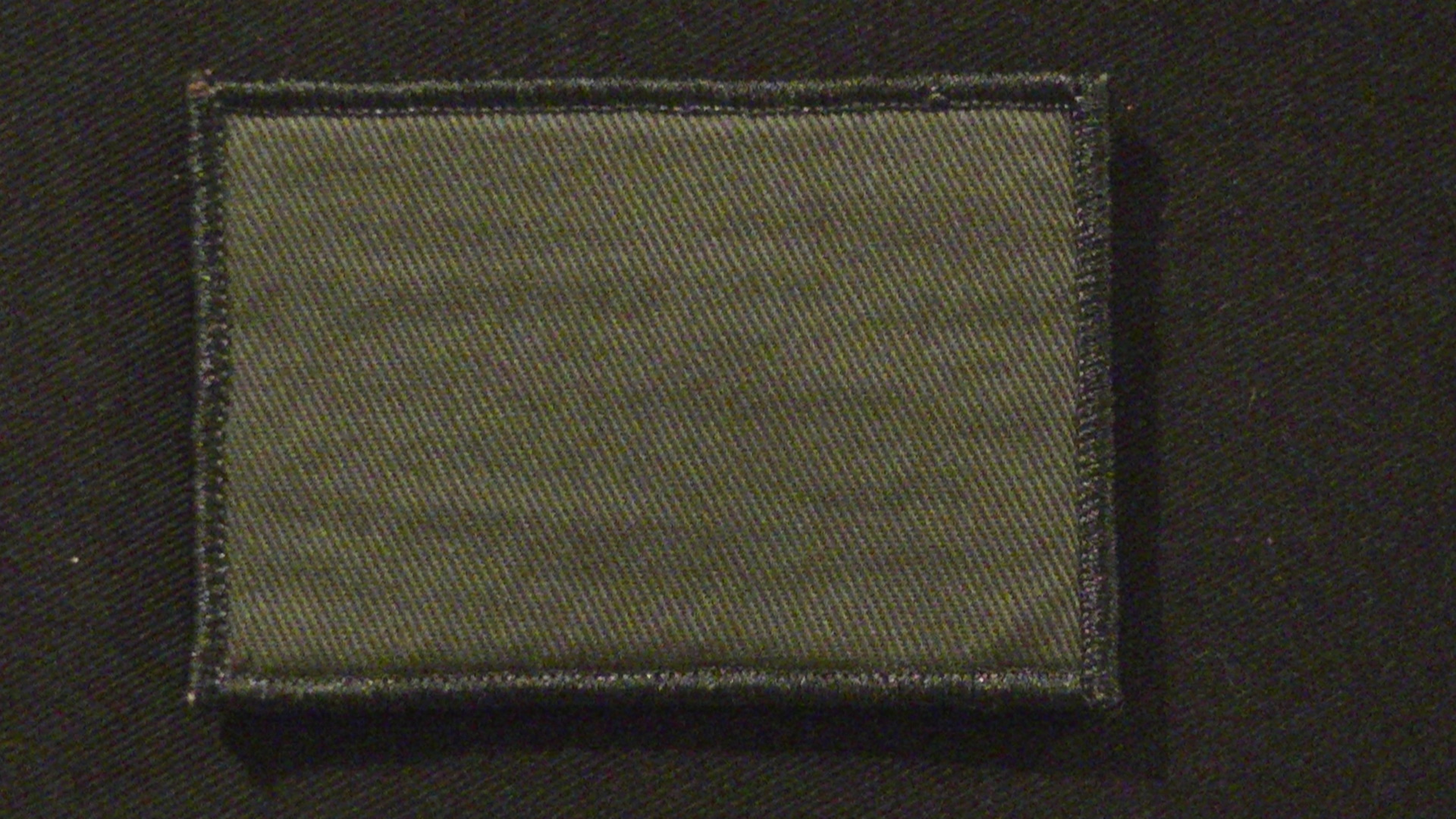 blank patch in Olive Drab