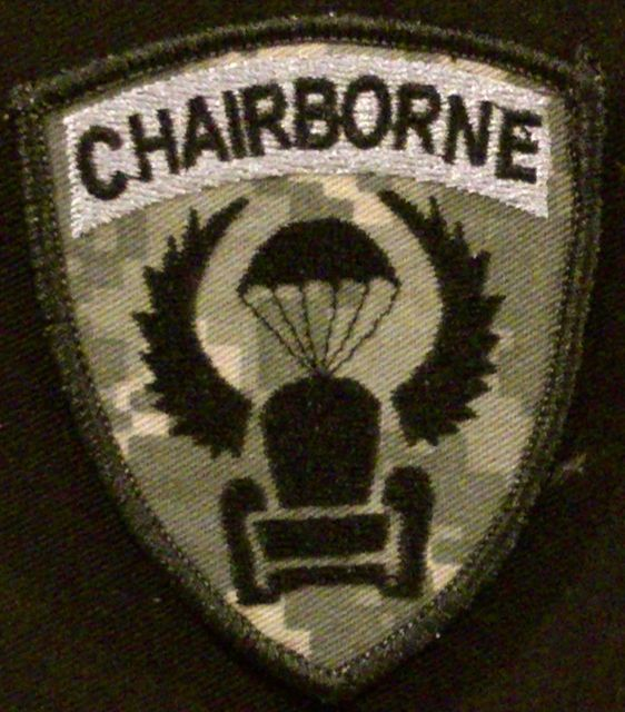 Chairborne patch