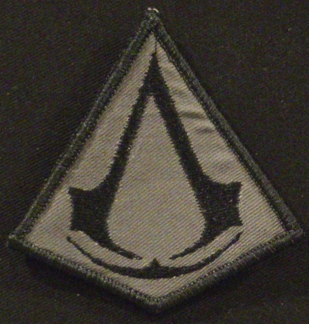 CUSTOM EMBROIDERED ASSASSINS CREED PATCH