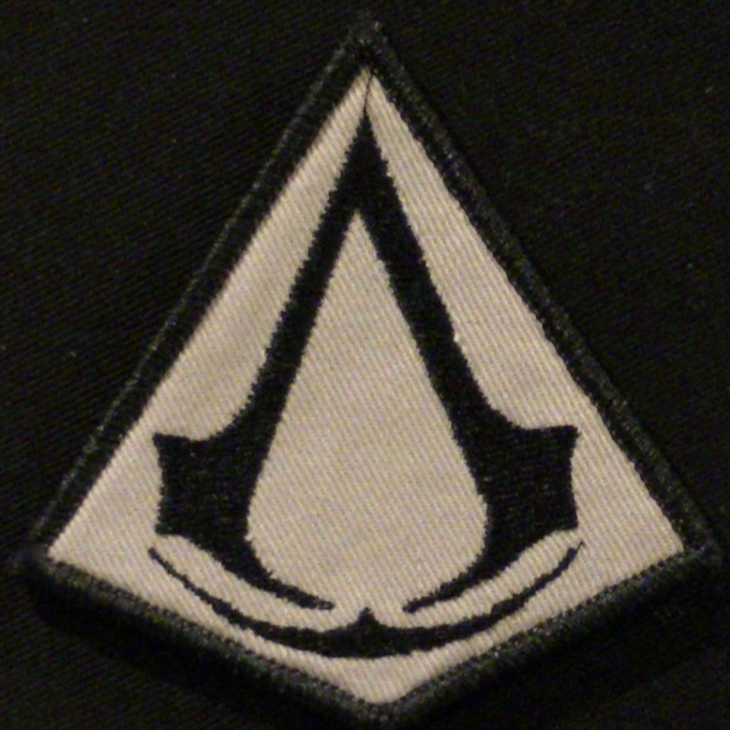 CUSTOM EMBROIDERED PATCH ASSASSINS CREED