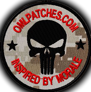 Custom Team template patch punisher