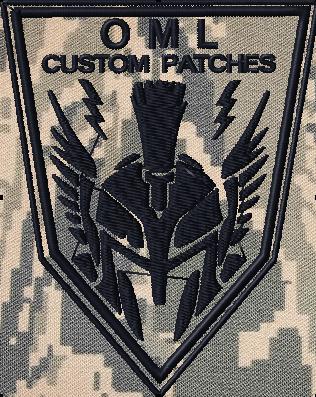 custom team patch Sentinel Taskforce Logo patch