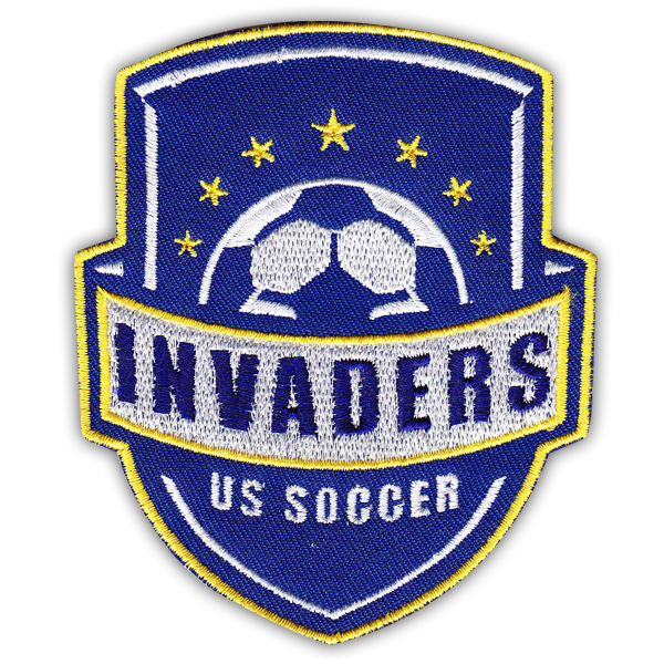 custom embroidered soccer patches