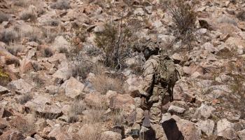 multicam arid uniform and gear