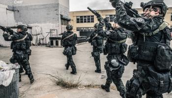 multicam black for police uniforms