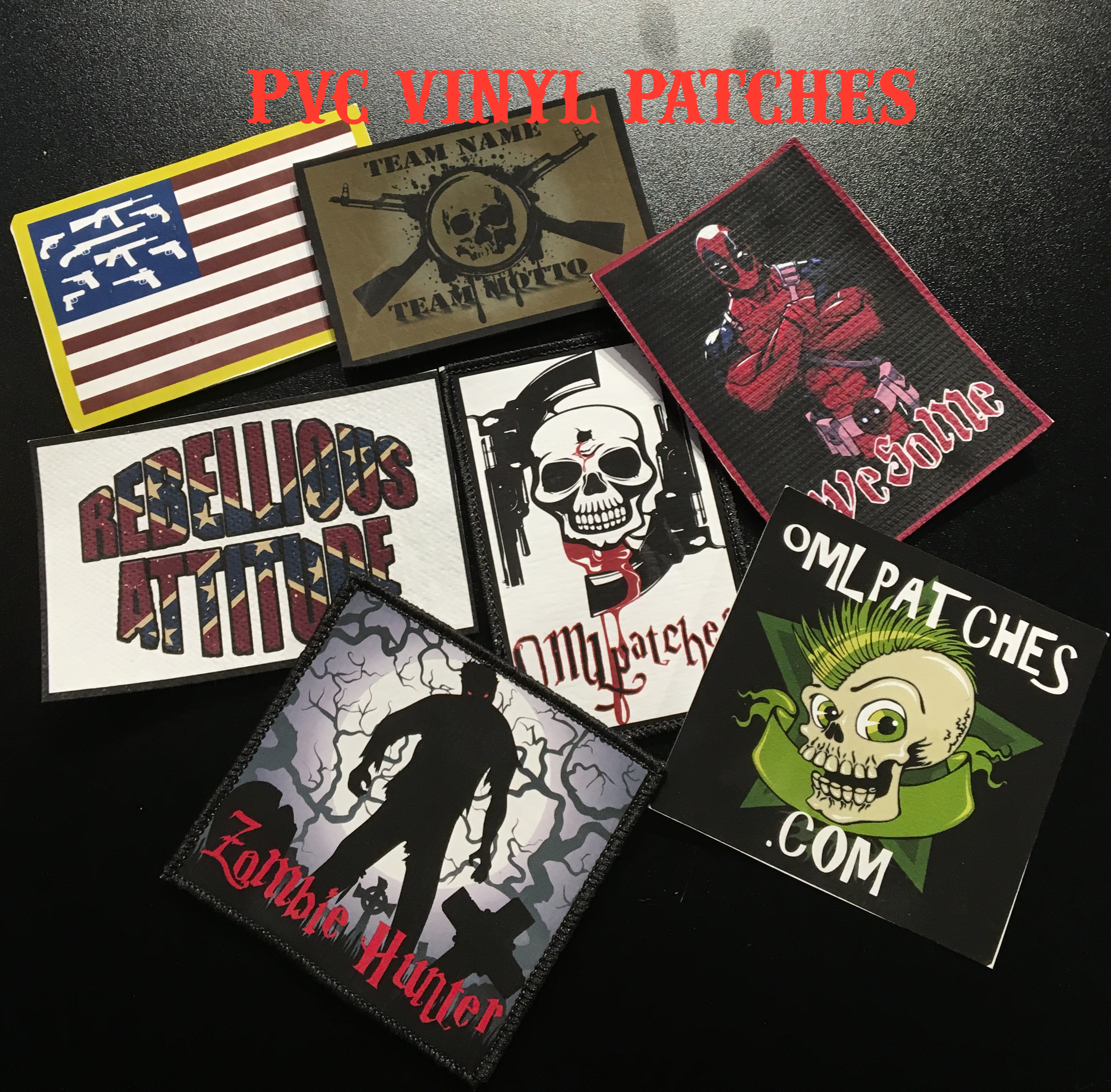 Design your own t-shirt label - Guidelines To Designing Your Own Pvc Vinyl Patch Pvc Vinyl Patches Create Your Own Custom Patch