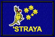 "AUSTRALIAN FLAG (""STRAYA) Kangaroo"