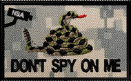 don't spy on me patch