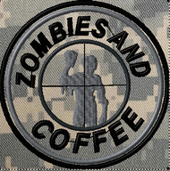 Zombies and Coffee custom patch