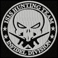 Isis Hunting Team velcro patch