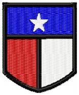 Texas State Guard Dragoon Beret Flash