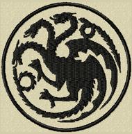 Game of Thrones House of Targaryen Sigil