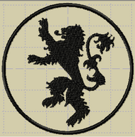 Game of Thrones House of Lannister Sigil Patch