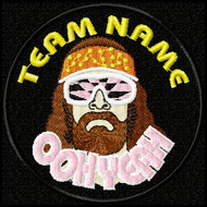 Team Template Macho Man Custom Patch
