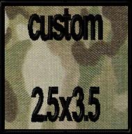 Custom 2.5x3.5 Velcro Patch