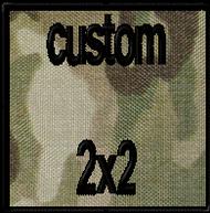 custom 2x2 velcro patch