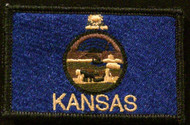 kansas state flag full colour