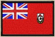 Bermuda Flag Patch full color