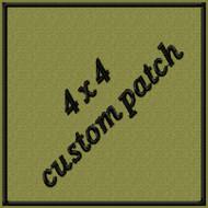4 x 4 custom Velcro patch