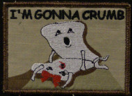 Im gonna Crumb funny velcro patch