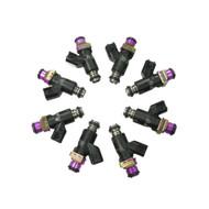 Set of 8 Racing Performance Fuel Injectors 1200 cc/min at 43 PSI