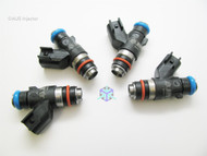 Set of 4 Racing Performance Fuel Injectors 1200 cc/min at 43 PSI