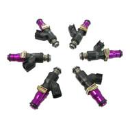 Set of 6 Racing Performance Fuel Injectors 850 cc/min at 43 PSI