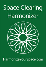 Space Clearing Harmonizer, front