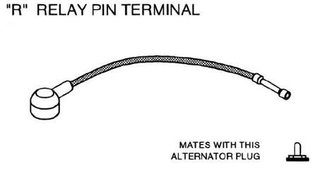 R Relay Pin Terminal